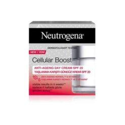 کرم روز ضدچروک با اس پی اف 20 نیتروژینا cellular boost day cream