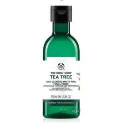 تونر تی تری بادی شاپ(tea tree toner)