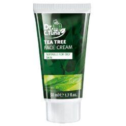 کرم مرطوب کننده صورت تی تری فارماسی DR C TUNA TEA TREE SERIES FACE CREAM