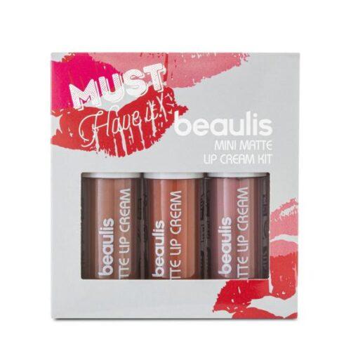 پک رژ 3تایی بیولیس mini lipstick